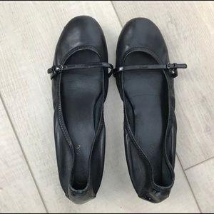 Cole Haan Nike Air Black Ballet Flats Size 11